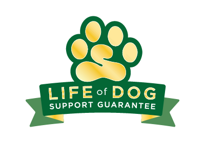 Ask about My Life of Dog Support Guarantee